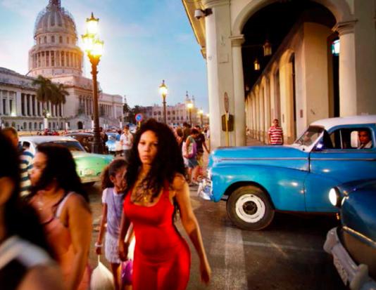 Kongressbyggnaden i La Habana har inte använts på över femtio år eftersom Fidel inte tycker om den.