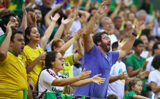 Det brasilianska sportsmansidealet är att bua ut motståndaren så mycken man bara kan