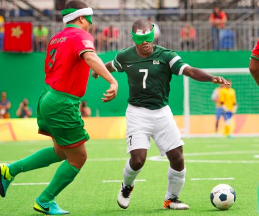 Jefinho blev vald till världens bästa blinda fotbollsspelare 2010
