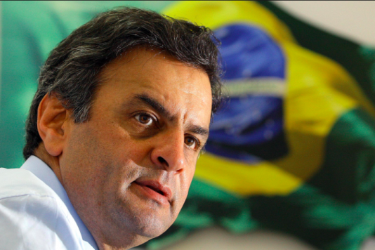 Aécio Neves, 54, barnbarn till legenden Tancredo Neves