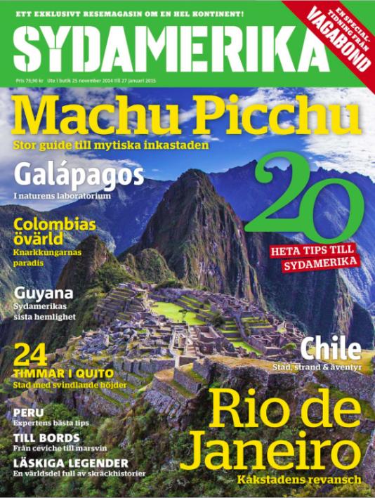 Vagabonds specialnummer om Sydamerika