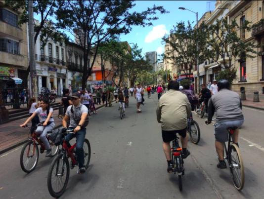 Bogotá är Latinamerikas mest cykelvänliga stad.
