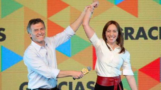Mauricio Macri och Maria Eugenia Vidal kan bli Argentinas två viktigaste politiker