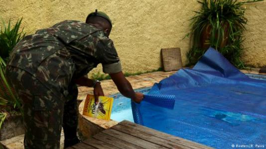 En vanlig spridningsrisk av zika är privata pooler
