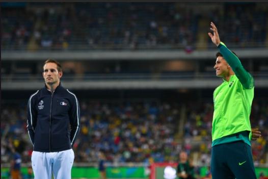 Lavillenies tränare menar att det var svart magi som låg bakom att Thiago Braz tog OS-guldet