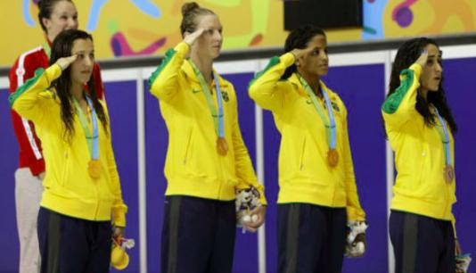 Under Panamerikanska spelen i Toronto 2015 var de brasilianska idrottarna tvungna att göra honnär