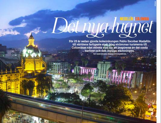 Medellín är en av Sydamerikas trevligaste städer