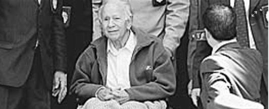 Paulo Schäfer förs till Chile för att dömas för pedofilibrott och tortyr.