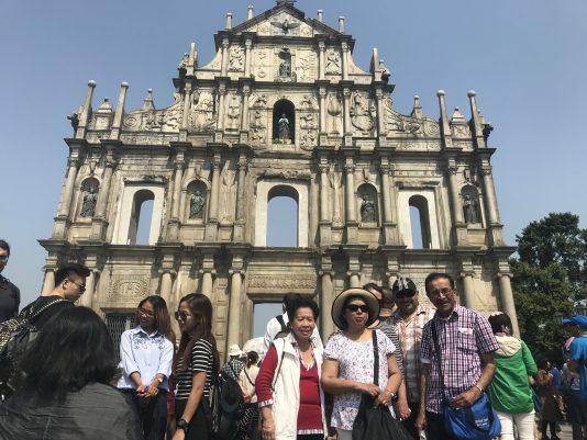 Resterna av São Paulo-katedralen – Kinas mest berömda kristna kuliss