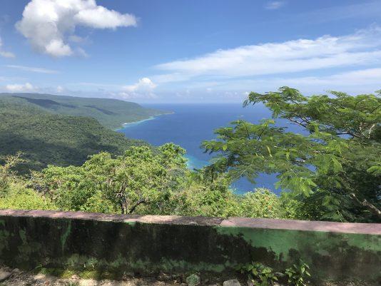 Utsikt från Nino Konis Santana National Park.