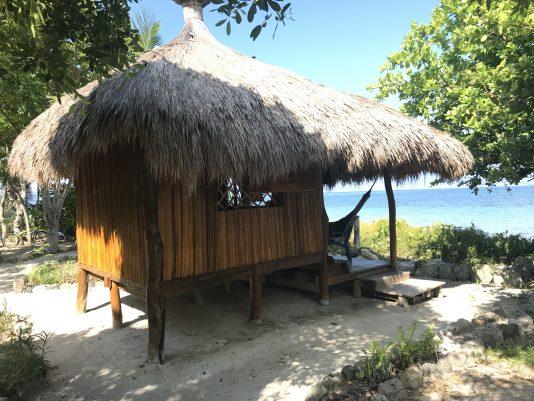 MIn bungalow på ön Ataúro.